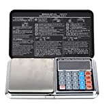 Scale Calculator - TOOGOO(R) 1kg/0.1g 1000g Portable LCD Mini Digital Pocket Scale Calculator Weight Balance