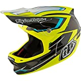 Troy Lee Designs D3 Composite Helmet Cadence Black/Yellow, L