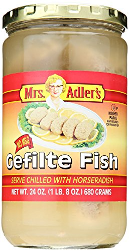 Price comparison product image Mrs. Adler Gefilte Fish,  24 oz
