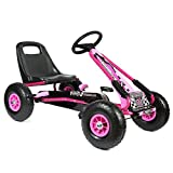 bopster - Pedal Go Kart with Inflatable Tyres 5-8 Years – Pink