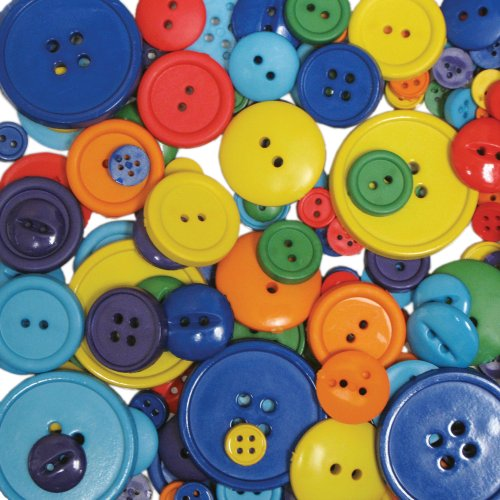 Blumenthal Lansing Company, Rainbow Favorite Findings 3-1/2-Ounce Big Bag of Buttons