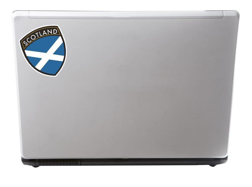 2 x 20cm//200mm Scotland Vinyl Sticker Decal Laptop Travel Luggage Car Bike Sign Fun #4600