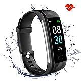 GINOZO Fitness Tracker, Activity Tracker Watch with Heart Rate Monitor, Pedometer IP67 Waterproof