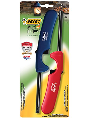 BIC Multi-purpose Lighter, 2 - Take To Camping Essentials