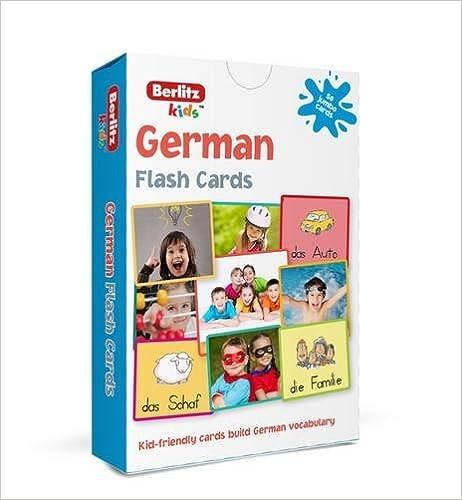 Amazon.com: Berlitz Language: German Flash Cards (Berlitz ...