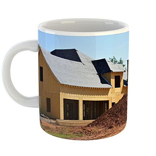 Modular Cottage Office (Westlake Art - House Property - 11oz Coffee Cup Mug - Modern Picture Photography Artwork Home Office Birthday Gift - 11 Ounce (A103-4583E))