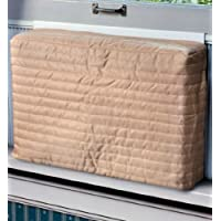Indoor Air Conditioner Cover (Beige) (Medium - 15 -17'H x 22 -25'W x 2'D)
