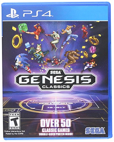 SEGA Genesis Classics - PlayStation 4 (Plug And Play Sega Genesis 80 Games)