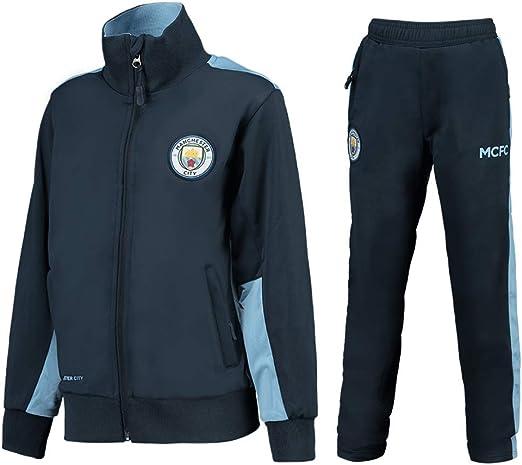 Manchester City F.C. Chándal Pantalones y Chaqueta Original con ...