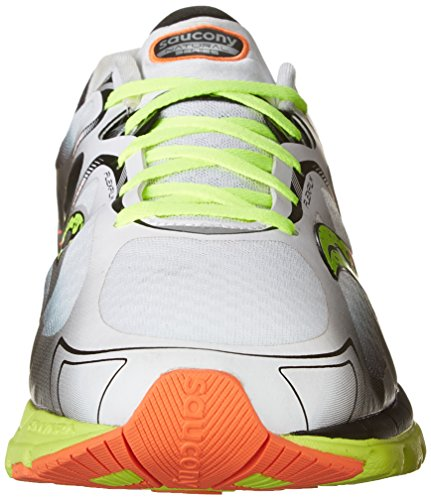 Saucony 6 Kinvara Orange Mens Shoe White Citron Mens Running 6 Saucony Running Kinvara 0qSr0T