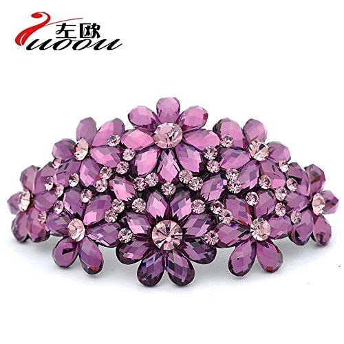 Adult Diamond Jewelry Hairpin Korea Elegant Lady Hair