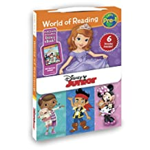 World of Reading Disney Junior Boxed Set: Pre-Level 1 - Purchase Includes Disney eBook!