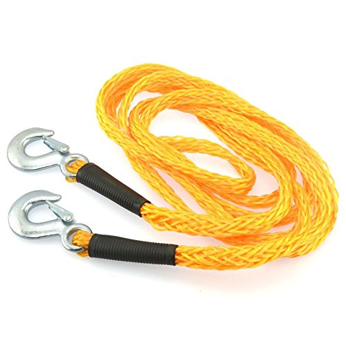 "Domeiki 1"" x 14' Poly Braid Super Strong 6500lbs Tow Rope..."