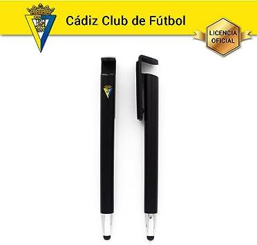 Bolígrafo Touch Pen Cádiz C.F. con soporte para Smartphone, Lápiz ...