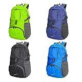 Foldable Hiking Backpack 35l Ultra Lightweight Tear Water...