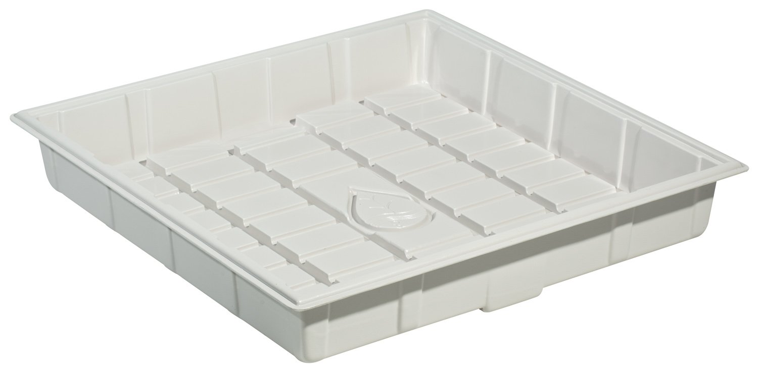 Botanicare Grow Tray, 3 by 3-Feet, White