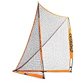 Outroad Portable 6x6 ft Official Folding Lacrosse Goal, Collapsible for Practicing Shooting Training Ice Hockey Net for Youth/Children