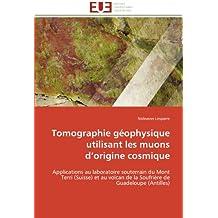 TOMOGRAPHIE GEOPHYSIQUE UTILISANT LES MUONS D