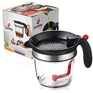 Amazon Com 4 Cup Gravy Fat Separator By Yummy Glory