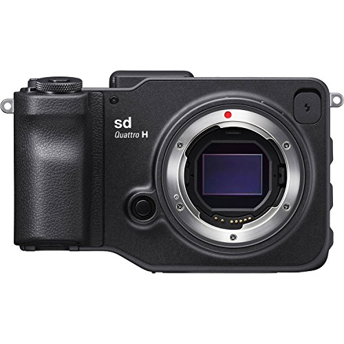 Sigma C41900 sd Quattro H 51 Digital SLR Camera with 3' LCD, Black