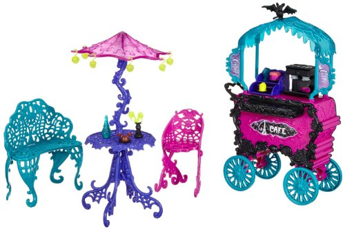 Monster High Travel Scaris Café Cart -