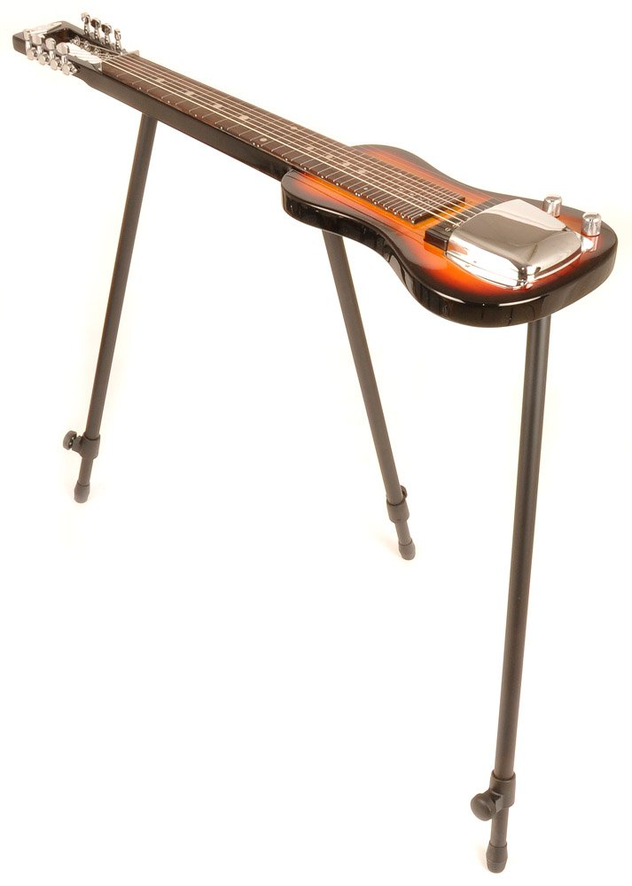 SX LAP 8 3TS 8 String Lap Steel Guitar w/Free Detachable Stand and Padded Carry Bag