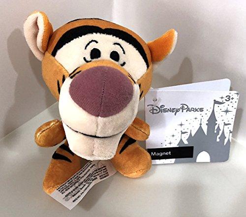 (Disney Parks Tigger Big Head Magnet Plush Doll)