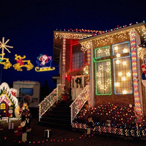 Low Voltage Outdoor Party Lights: Excelvan Safe Low Voltage 250 LEDs 50M Fairy String Lights