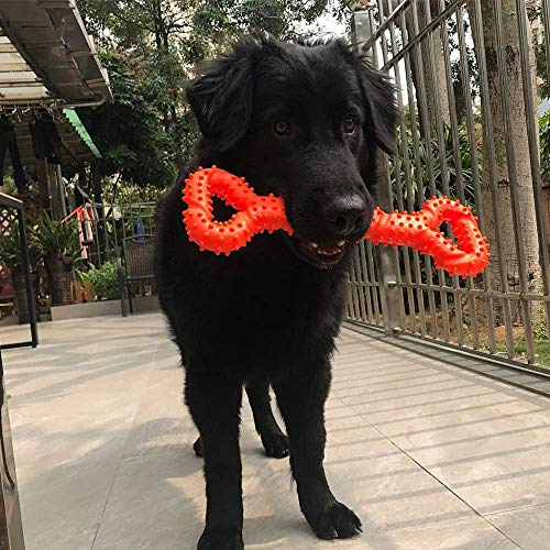 CMKJ Dog Toy for Aggressive Chewers,Durable Dog Toy for Changing Teeth for Energetic Dogs Medium Large Dogs