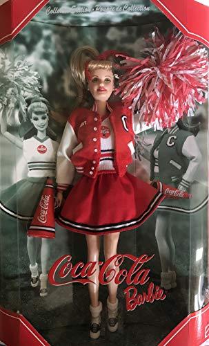 Barbie Collector Edition COCA COLA Cheerleader Doll w Cheerleader Pom Poms, Megaphone & More - Barbie Megaphone