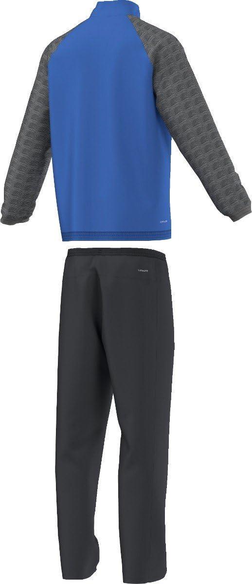 Adidas - Trainingsanzüge Ts Iconic - survetement - Homme Multicolore (Bleu/Gris/Noir/Blanc)