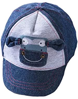 Cute Kids Infant Cotton Baseball Hats Sun Visors Cap