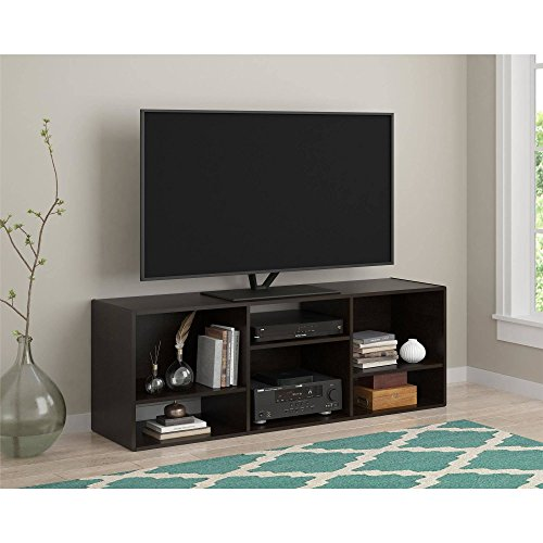 """New Black TV Stand or Shelving Unit for TVs up to 55"""", Espre"""