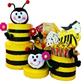 Honey, Bee Well Soon Gourmet Food Gift Tower
