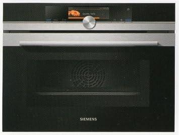 Siemens CN678G4S1 - Horno (Eléctrico, Convección, Convencional, Parrilla, Microonda, Vapor