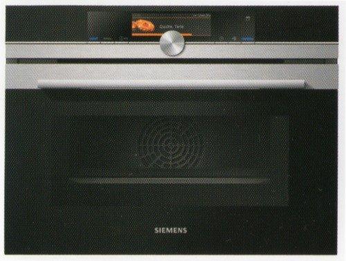 Siemens CN678G4S1 - Horno (Eléctrico, Convección, Convencional, Parrilla, Microonda, Vapor, Integrado, Negro, Acero inoxidable, Giratorio, Sensor, ...