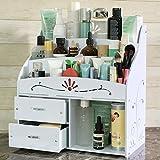 Dressing Table Large Capacity Cosmetic Storage Box Makeup Brush Shelf