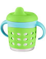 Make My Day Adjustable Sippy Cup, Green