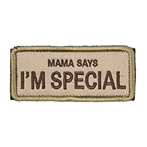 """OneTigris Original Patch Tactical Morale Military Patch """"Mama Says I'm Special"""" (A)"""