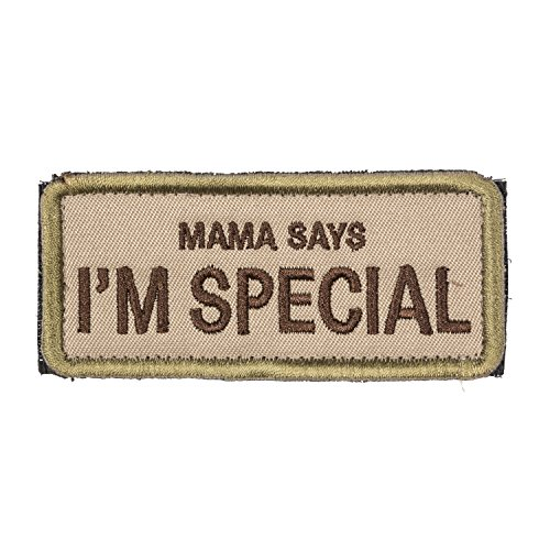 OneTigris Original Patch Tactical Morale Military Patch Mama Says I'm Special (A) (Patch Mama)