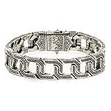 Konstantino Hephaestus Collection Sterling Silver Cage Bracelet