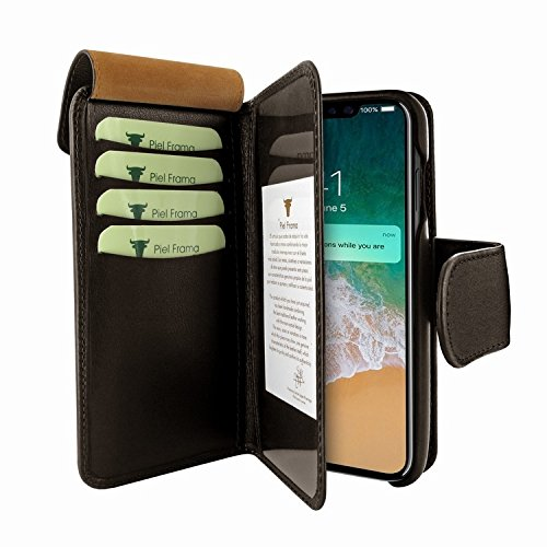 Piel Frama 793 Brown WalletMagnum Leather Case for Apple iPhone X by Piel Frama (Image #2)