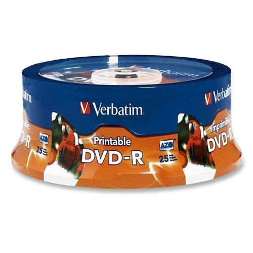 Verbatim 96191 DVD Recordable Media - DVD-R - 16x - 4.70 GB