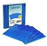 Click N' Play Blue Building Brick Baseplates - 5