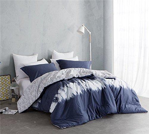 Navy Blur King Comforter