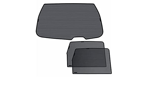Laitovo Np-S-1423 Classic Tailored Privacy Rear Window Sunshade Set