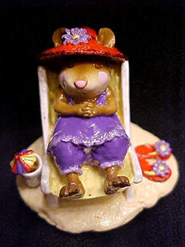 Wee Forest Folk Special Color Red Hat Society Sun Snoozer