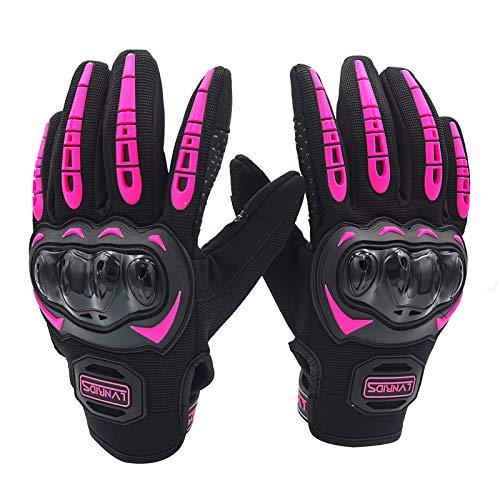 LVNRIDS Motorradhandschuhe Touchscreen Vollfinger Handschuhe für Herren Damen, für Motorradrennen Mountainbike…