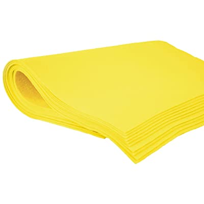 Shammy Cloth Chamois Absorbent Cleaning Towel 20 x 27 for Home Car Truck RV - Yellow: Home & Kitchen