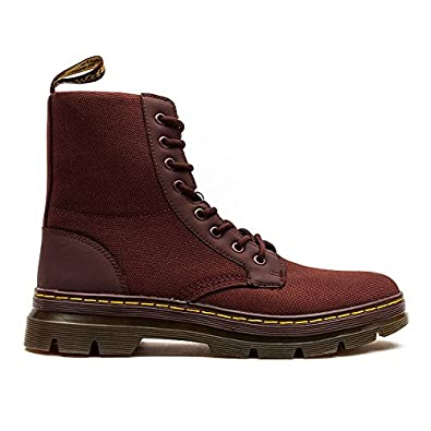 Dr martens men 39 s combs nylon combat boot for Amazon dr martens